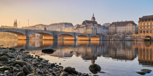 Früher Morgen in Basel
