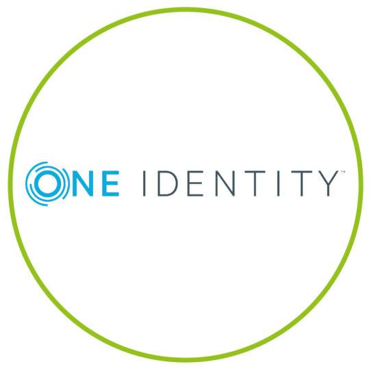 One Identity Logo Kreis-grün